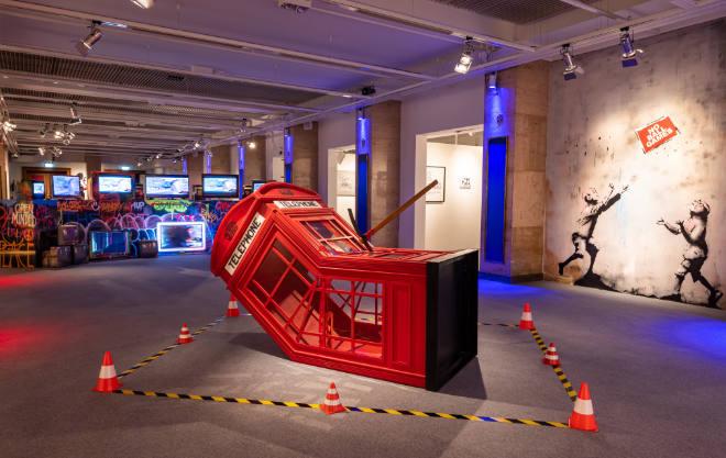 Umfassendste Bansky Ausstellung in München