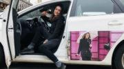 UBER Fahrerin Sara liebt ihren Job und die Landeshauptstadt bei Nacht