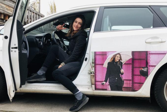Uber München Fahrerin Sara