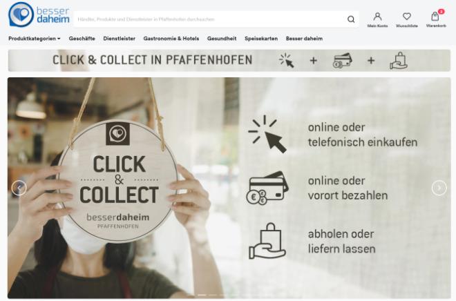 """Auch Händler in Pfaffenhofen nutzen die Plattform von """"atalanda"""". Foto: atalanda"""