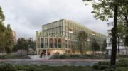 Erstes Holzbau-Hybrid-Gebäude für München im Werksviertel