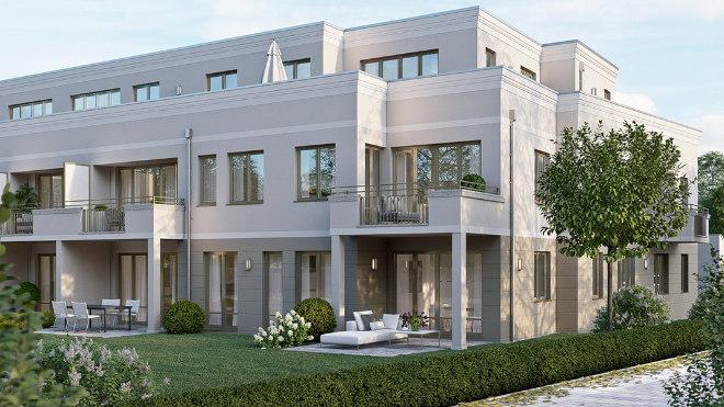 17 Eigentumswohnungen mit Wohnflächen von 50 bis 118qm und sehr offenen und hellen Raumkonzepten. Fotocredit: neubaukompass.de