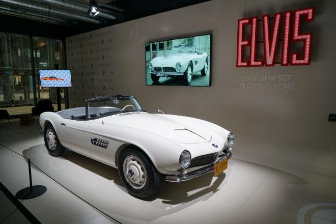 Dienstag bis Samstag von 10 bis 18 Uhr kann man kostenfrei die Motorworld München, Lilienthalallee 35 in München besuchen! Fotocredit: BMW Group