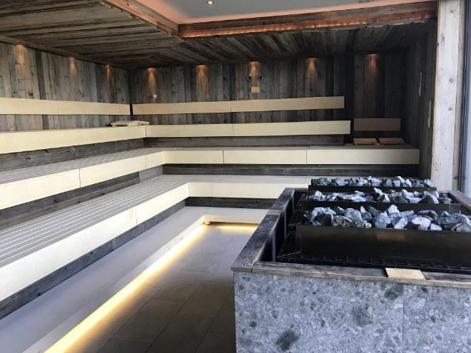 Saunabau für Hotels ist natürlich anders als für Privatpersonen