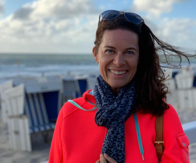Heidi Velz ist die erste weibliche Chef Concierge in ganz Süddeutschland.