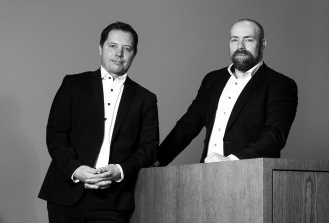 Christian Bär und Dominik Junold (re.) von CREDO VISION bieten Beratung speziell für kleine Unternehmen.