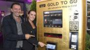 Münchens erster Goldbarren Automat beim Szene-Italiener