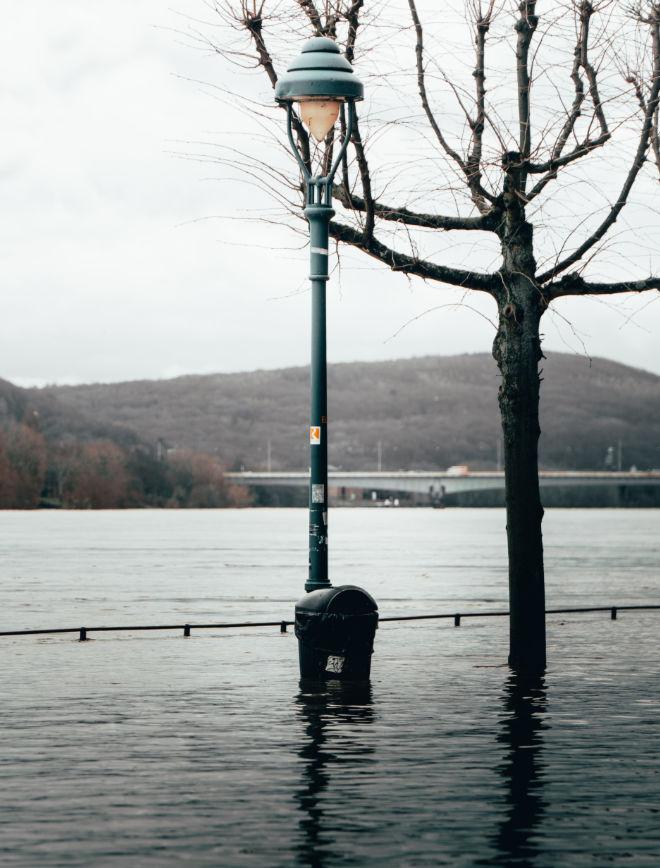 Bei Hochwasserschäden sofort handeln!