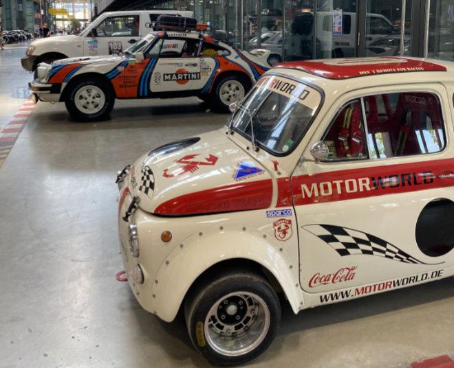 Einige Autos aus der Motorworld Heritage Selection werden in der Halle 4 auf dem Messegelände München-Riem zu sehen sein.