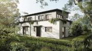 Neuer Bau-Trend: Vorne Mehrfamilienhaus, hinten Haus-Idylle
