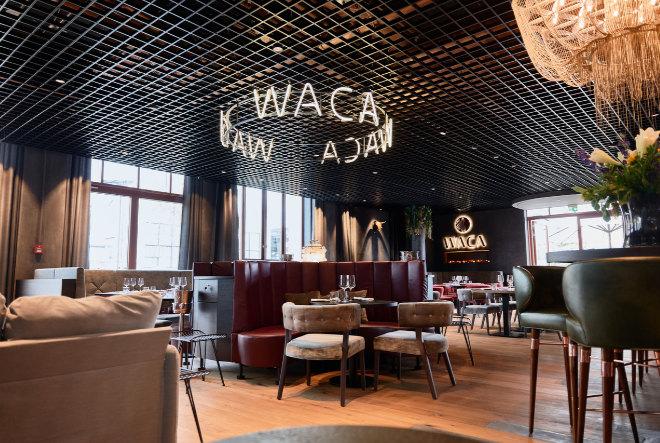 Mitten in der neuen Motoworld München in Freimann eröffnete das neue Restaurant WACA.
