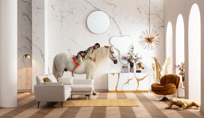 Weißer Marmor so richtig in Szene gesetzt! Fotocredit: Kare Design